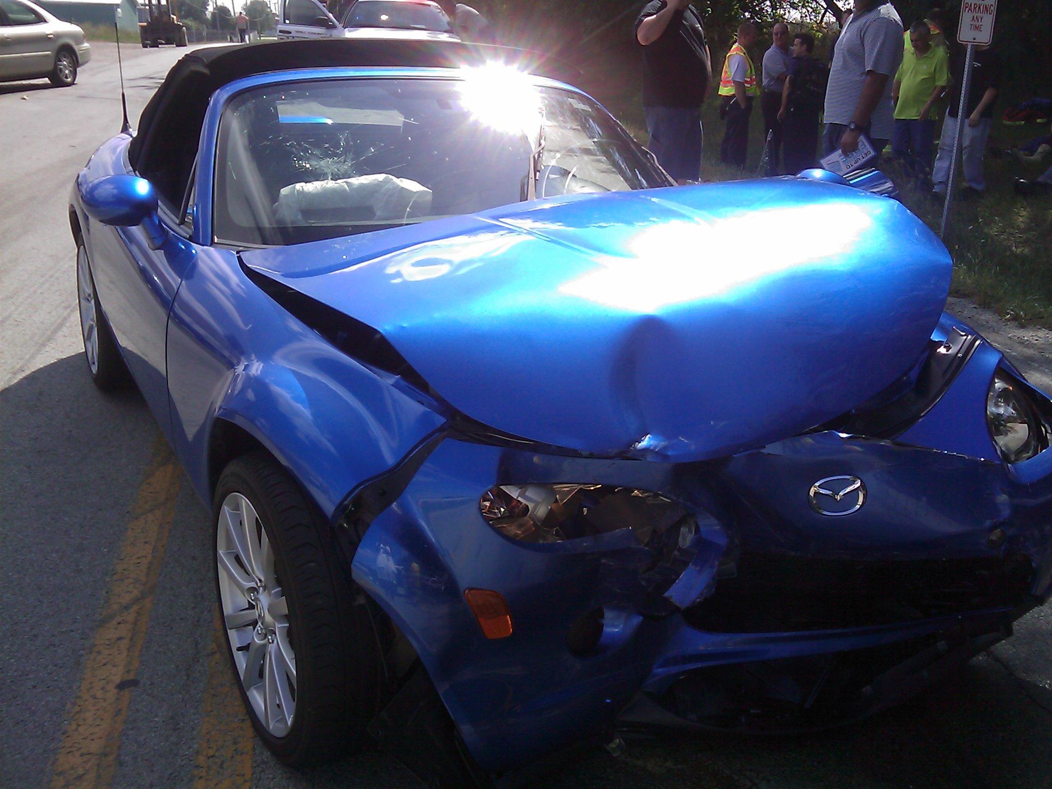 Auto po wypadku - bez ubezpieczenia