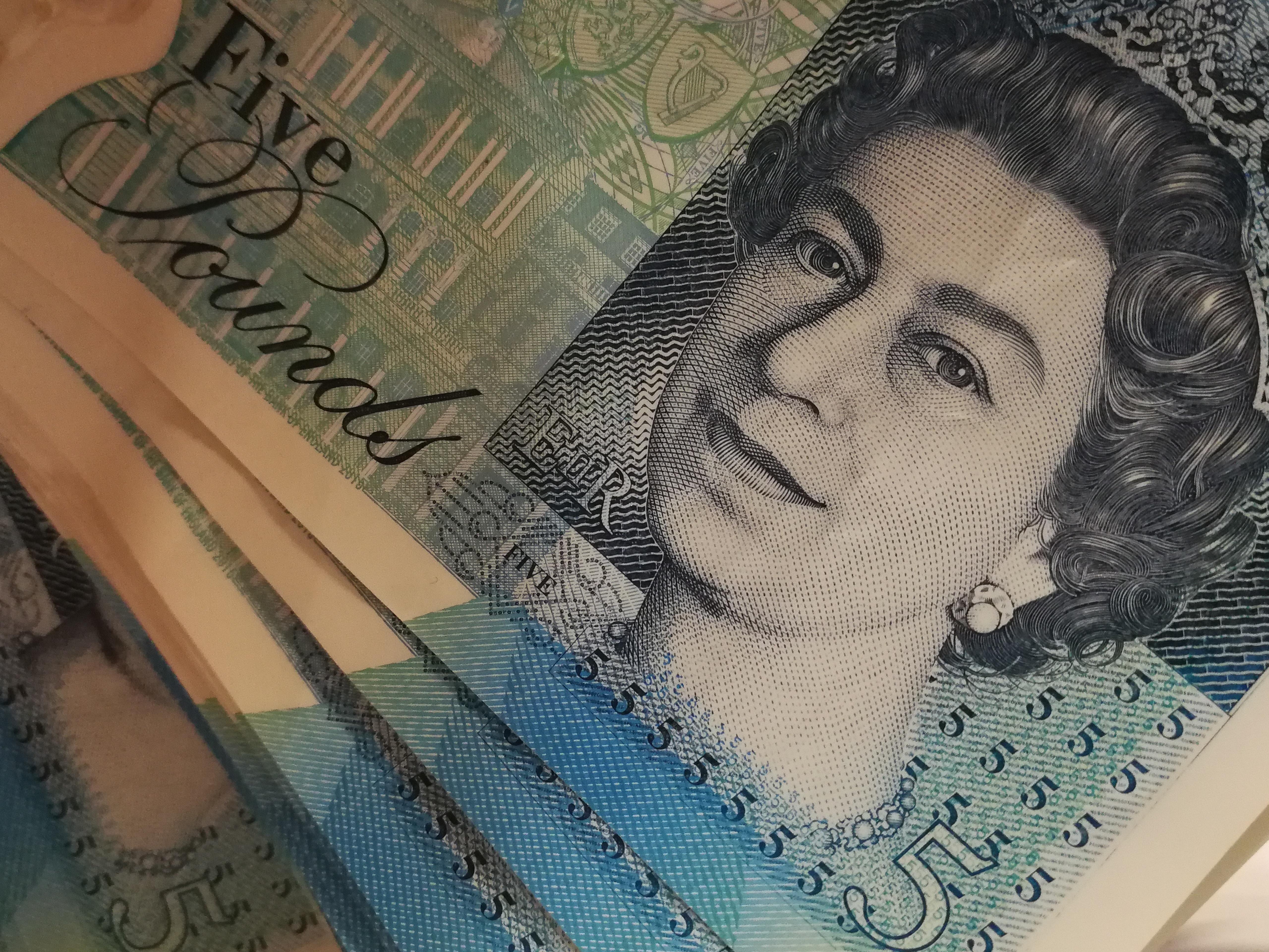 funty - królowa Elżbieta II